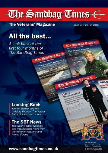 The Sandbag Times Issue No:27 - All The Best