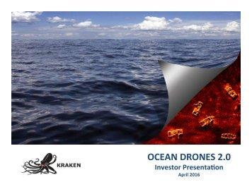 OCEAN DRONES 2.0