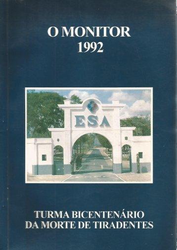 01 - Revista Monitor 1992 - Cmdo e Apoio