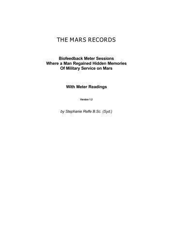 The Mars Records