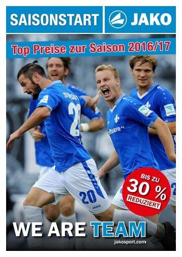 JAKO Saisonstart Schweiz 2016 Flexdress Näf