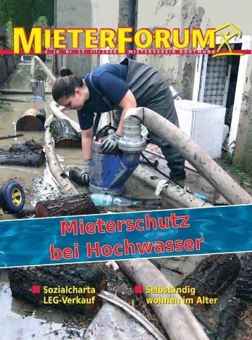 III/2008 - Mieterverein Dortmund und Umgebung eV