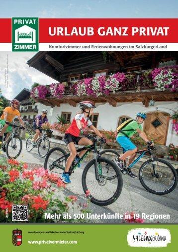 URLAUB GANZ PRIVAT - Salzburg 2016