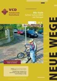 themenschwerpunkt - VCD Landesverband Elbe-Saale