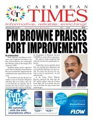 Caribbean Times 55th Issue - Wednesday 20th July 2016