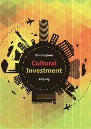 Cultural Investment