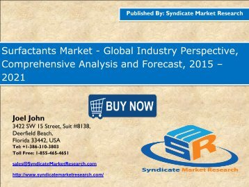Surfactants Market