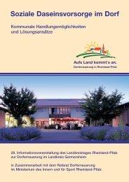Soziale Daseinsvorsorge im Dorf - beim Ministerium des Innern,für ...