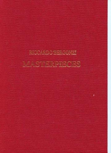 Violin certificate by Riccardo Bergonzi