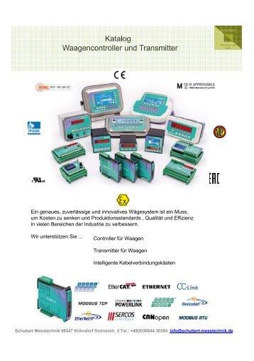 Controller und Transmitter für Waagen, Silos und Behälter