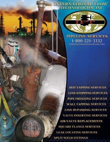 International Flow Technologies Pipeline Mechanical Services Catalog