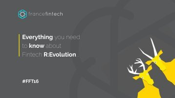 Everything you need to know about Fintech R:Evolution..