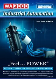 WA3000 Industrial Automation Juli 2016