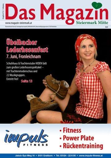 Juni 2012 - DAS MAGAZIN Steiermark-Mitte