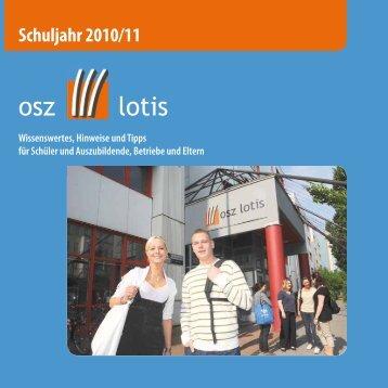 """""""Hinweise und Tipps 2010/11"""" als Download - OSZ Lotis Berlin"""