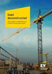 Debt deconstructed