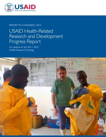 USAID Health-Related Research and Development Progress Report