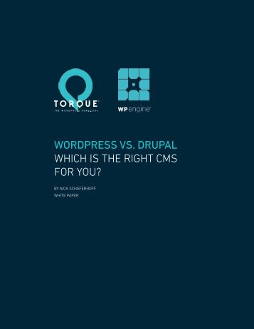 WORDPRESS VS DRUPAL WHICH IS THE RIGHT CMS FOR YOU?