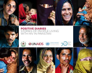 Positive Diaries Stories of people living with HIV in Pakistan