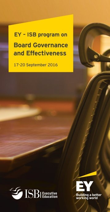Board Governance and Effectiveness