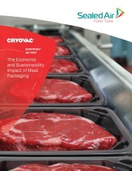 and Sustainability Impact of Meat Packaging