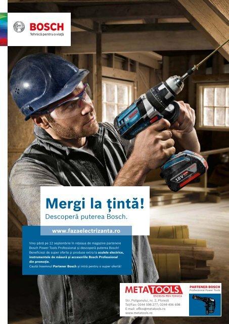 Tintește reducerile Bosch! - Promoția verii 2016
