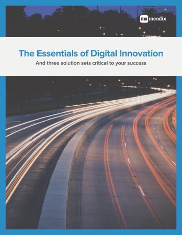 The Essentials of Digital Innovation