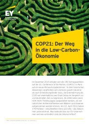 in die Low-Carbon- Ökonomie