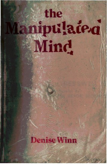 The Manipulated Mind