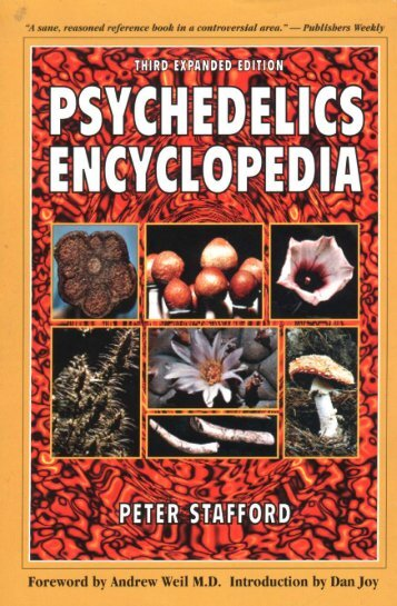 Psychedelics Encyclopedia - Peter Stafford