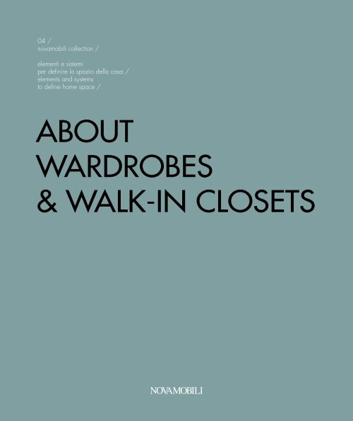 ABOUT-WARDROBES-WALK-IN-CLOSETS by Novamobili