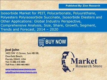 Isosorbide Market