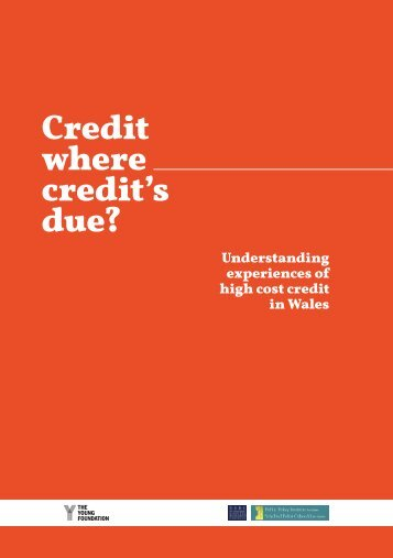 Credit where credit's due?