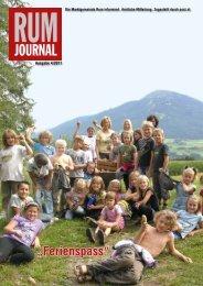 (2,80 MB) - .PDF - Marktgemeinde Rum - Land Tirol