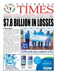 Caribbean Times 57th Issue - Friday 22nd July 2016