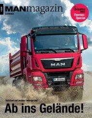 MANmagazin Truck 1/2016 Schweiz