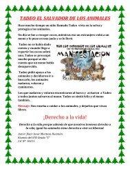 29 TADEO EL SALVADOR DE LOS ANIMALES
