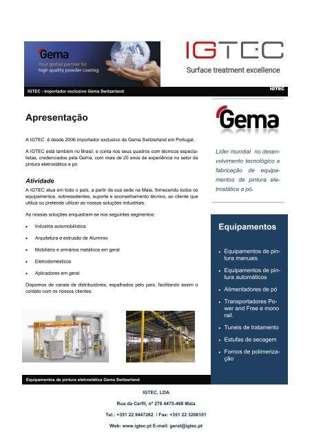 Apresentação IGTEC