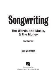 Songwriting - Music Pro Guides