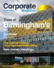 Corporate Magazine | August 2016