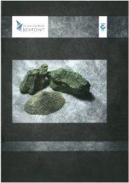 Broschüre Bentonit