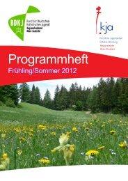 Programmheft Frühling/Sommer 2012 - Regio Rhön-Grabfeld/Home