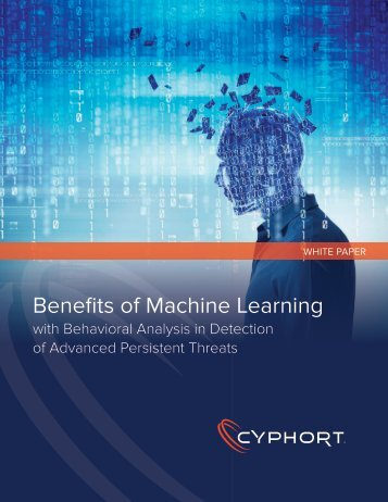 Benefits of Machine Learning