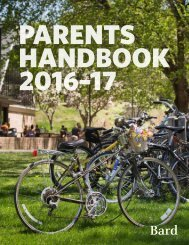 PARENTS HANDBOOK 2016–17