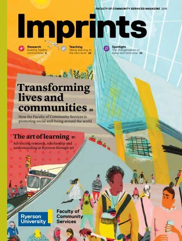 Transforming lives and communities