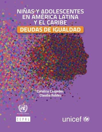 NIÑAS Y ADOLESCENTES EN AMÉRICA LATINA Y EL CARIBE DEUDAS DE IGUALDAD