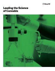 Leading the Science of Cannabis