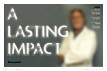 LASTING IMPACT A LASTING IMPACT A LASTING IMPACT