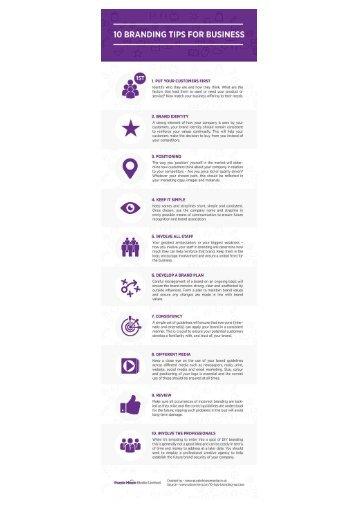 10 Branding Tips for Business