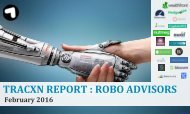 TRACXN REPORT  ROBO ADVISORS